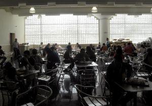 Arepera dining room
