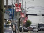 Campaign signs in Ciudad Ojeda