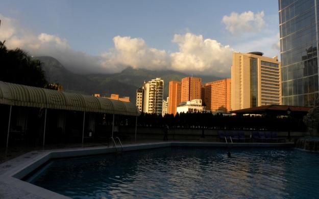 Hotel Gran Meliá pool, Caracas